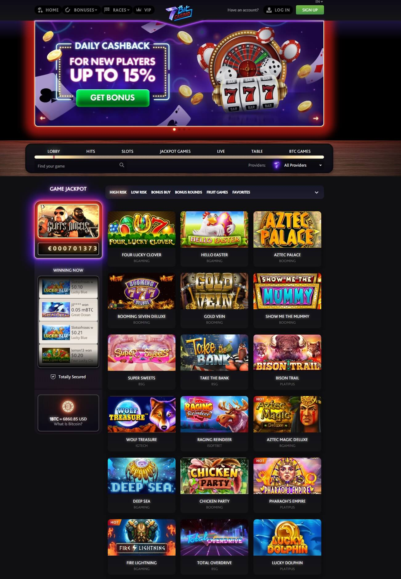 games 7bit casino review