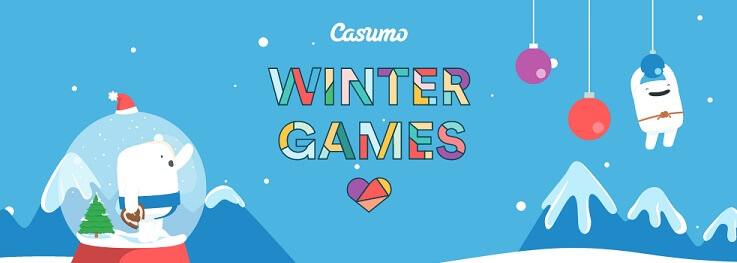 Get ready for the Winter Games at Casumo in December