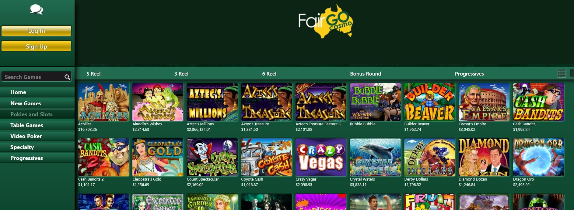 fair go casino pokies