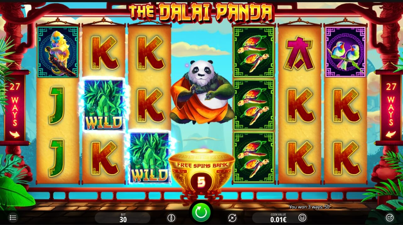 the dalai pand pokies review
