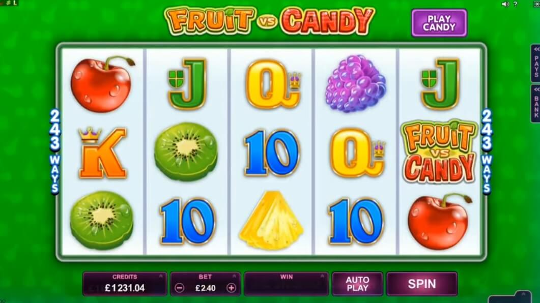 fruit vs candy pokies review microgaming Australian online casinos