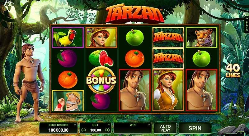 tarzan pokies casino sites