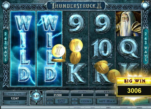 microgaming thunderstruck slot review